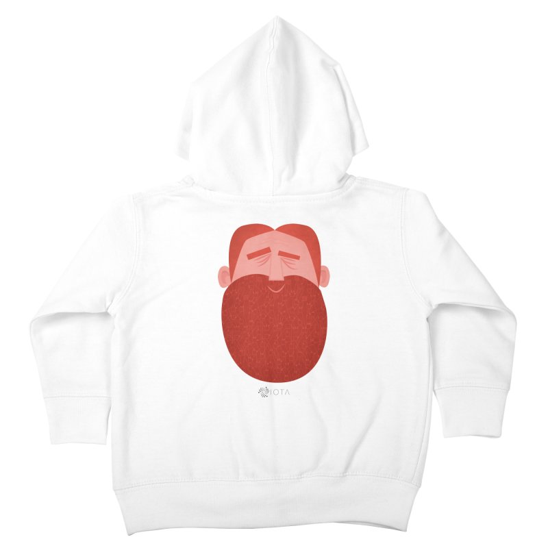 IOTA - Explore the Tangle - David's Beard Kids Toddler Zip-Up Hoody by amirabouroumie's Artist Shop