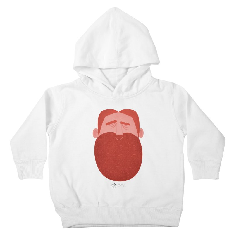 IOTA - Explore the Tangle - David's Beard Kids Toddler Pullover Hoody by amirabouroumie's Artist Shop