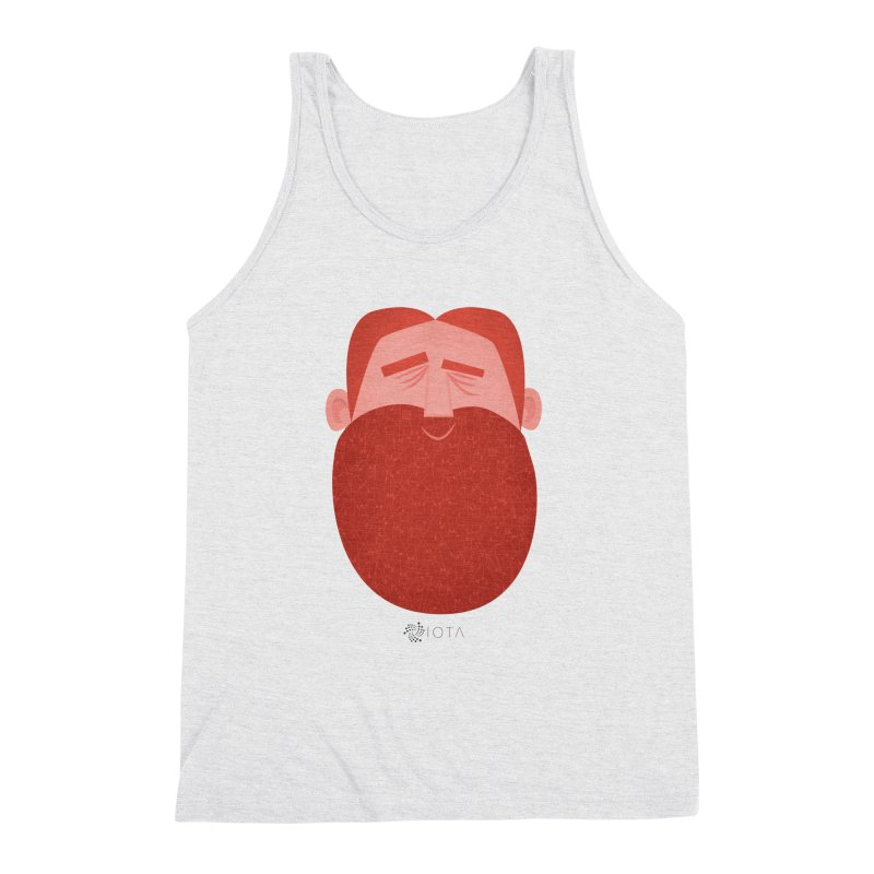 IOTA - Explore the Tangle - David's Beard Men's Triblend Tank by amirabouroumie's Artist Shop