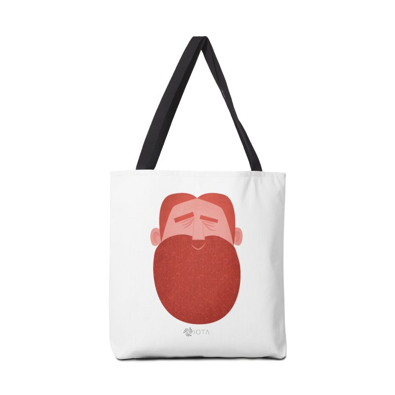 IOTA - Explore the Tangle - David's Beard Accessories Bag by amirabouroumie's Artist Shop