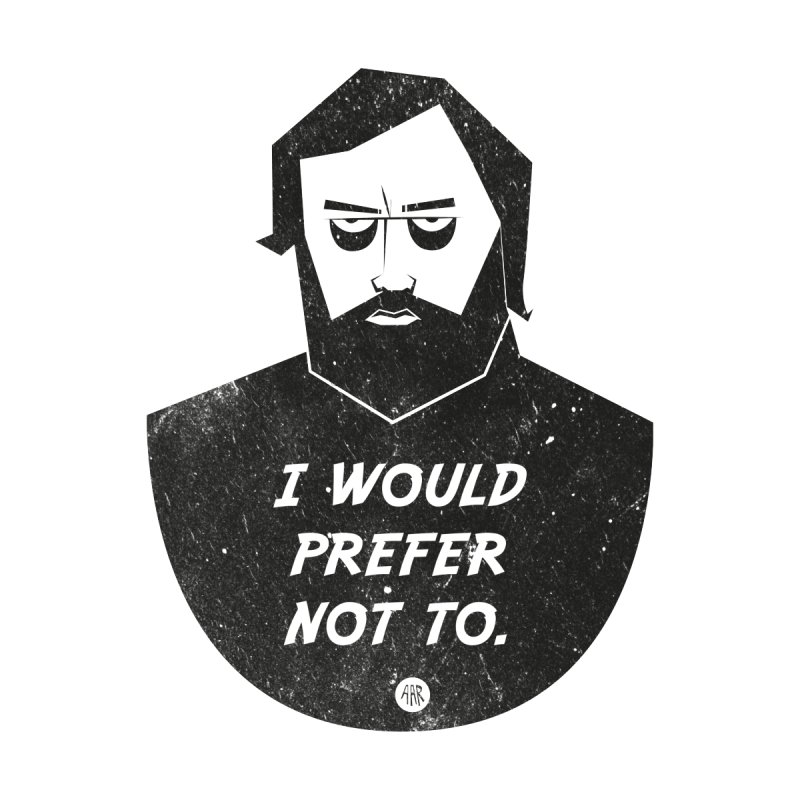 Slavoj Zizek - I prefer not to by amirabouroumie's Artist Shop