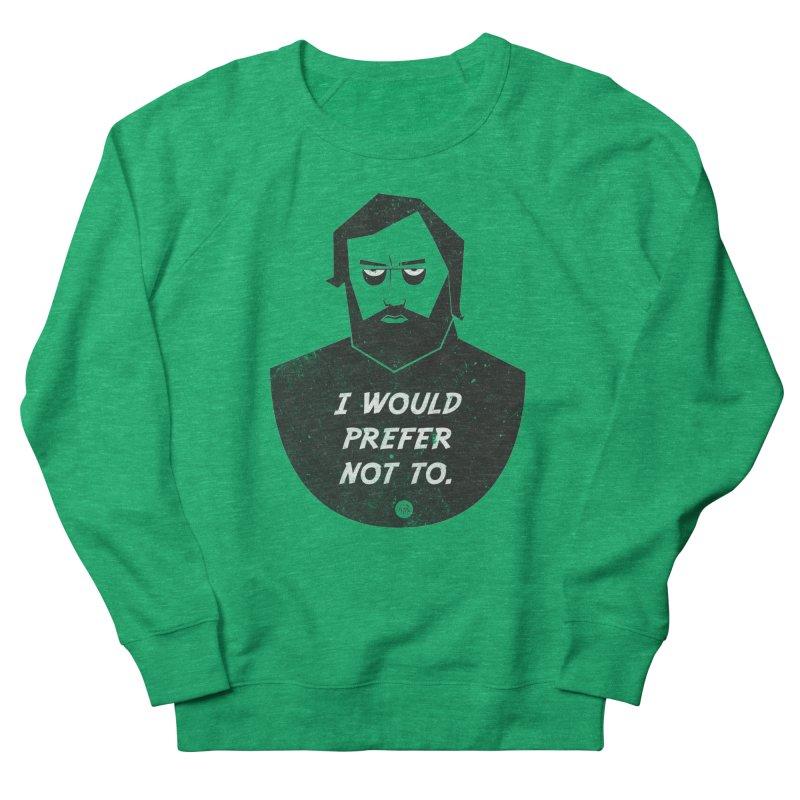 Slavoj Zizek - I prefer not to Women's Sweatshirt by amirabouroumie's Artist Shop