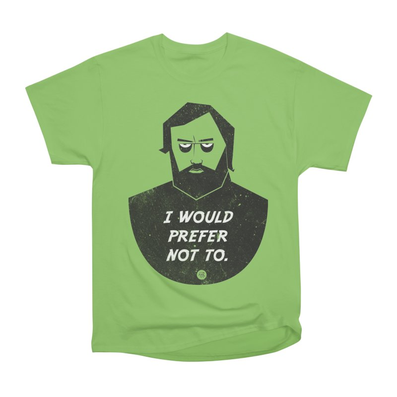 Slavoj Zizek - I prefer not to Women's Heavyweight Unisex T-Shirt by amirabouroumie's Artist Shop
