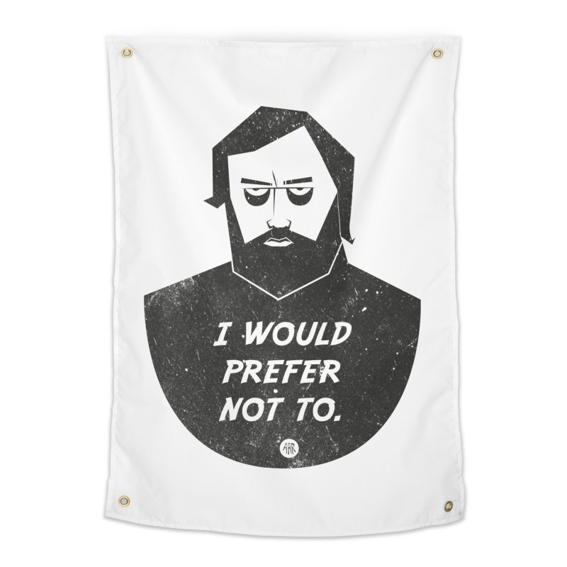 Slavoj Zizek - I prefer not to Home Tapestry by amirabouroumie's Artist Shop