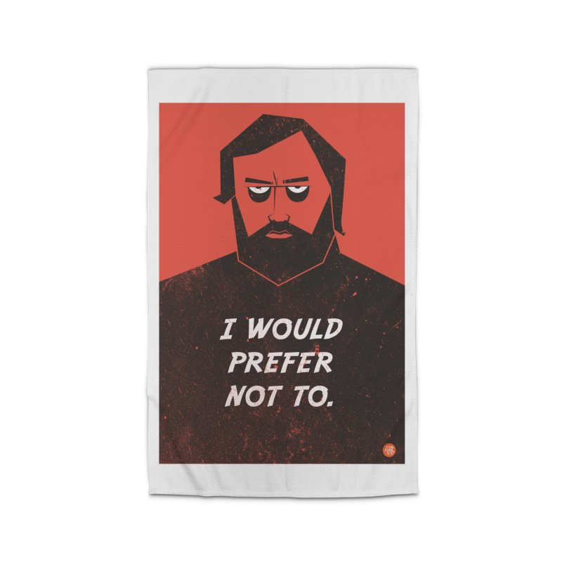 Slavoj Zizek - I would prefer not to. Home Rug by amirabouroumie's Artist Shop