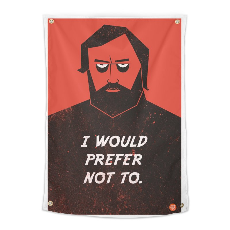 Slavoj Zizek - I would prefer not to. Home Tapestry by amirabouroumie's Artist Shop