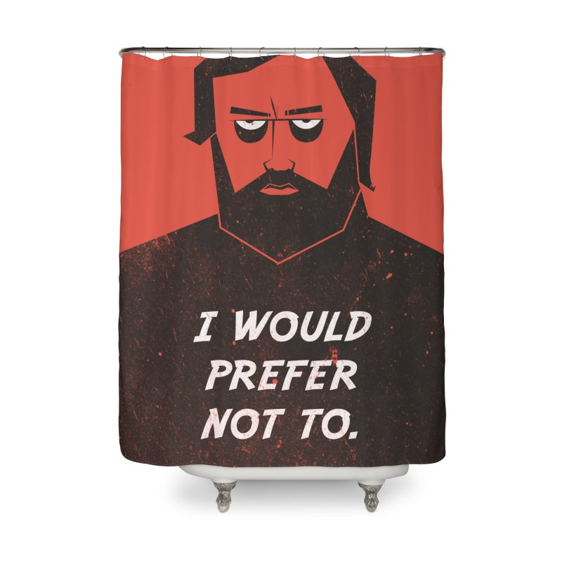 Slavoj Zizek - I would prefer not to. Home Shower Curtain by amirabouroumie's Artist Shop