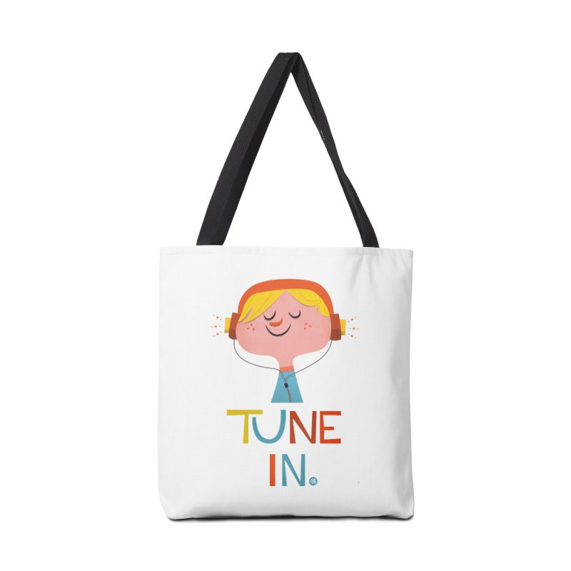 Tune In. Accessories Bag by amirabouroumie's Artist Shop