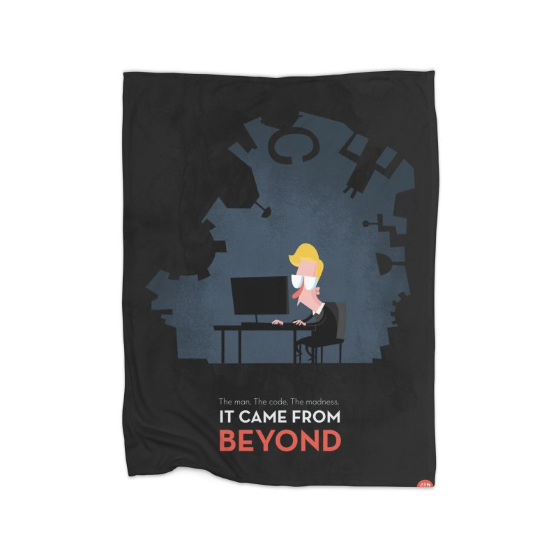 It came from beyond Home Blanket by amirabouroumie's Artist Shop