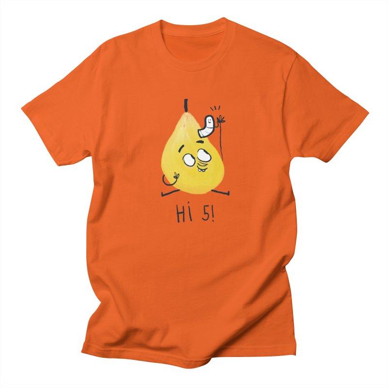 Hi Five! Women's Regular Unisex T-Shirt by amirabouroumie's Artist Shop