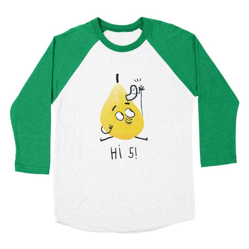 Hi Five! Women's Baseball Triblend Longsleeve T-Shirt by amirabouroumie's Artist Shop