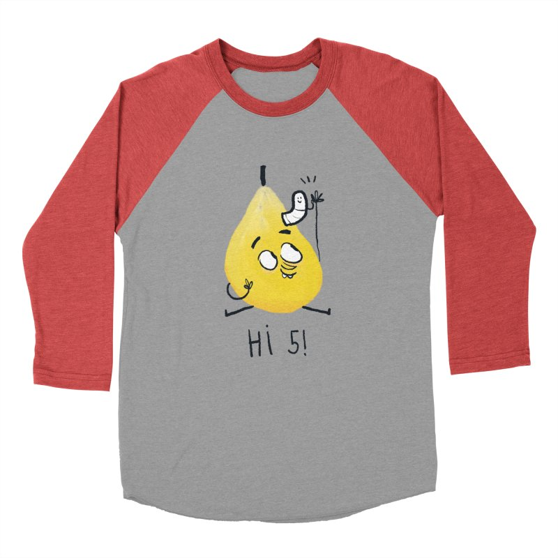 Hi Five! Women's Baseball Triblend Longsleeve T-Shirt by amirabouroumie's Artist Shop