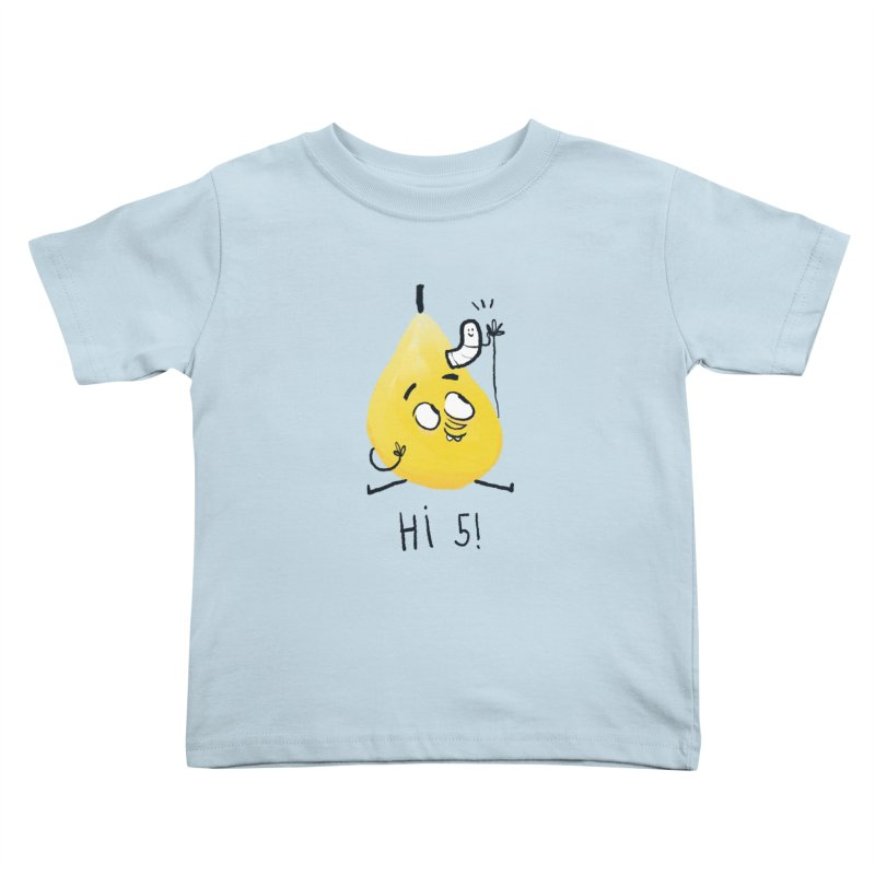 Hi Five! Kids Toddler T-Shirt by amirabouroumie's Artist Shop