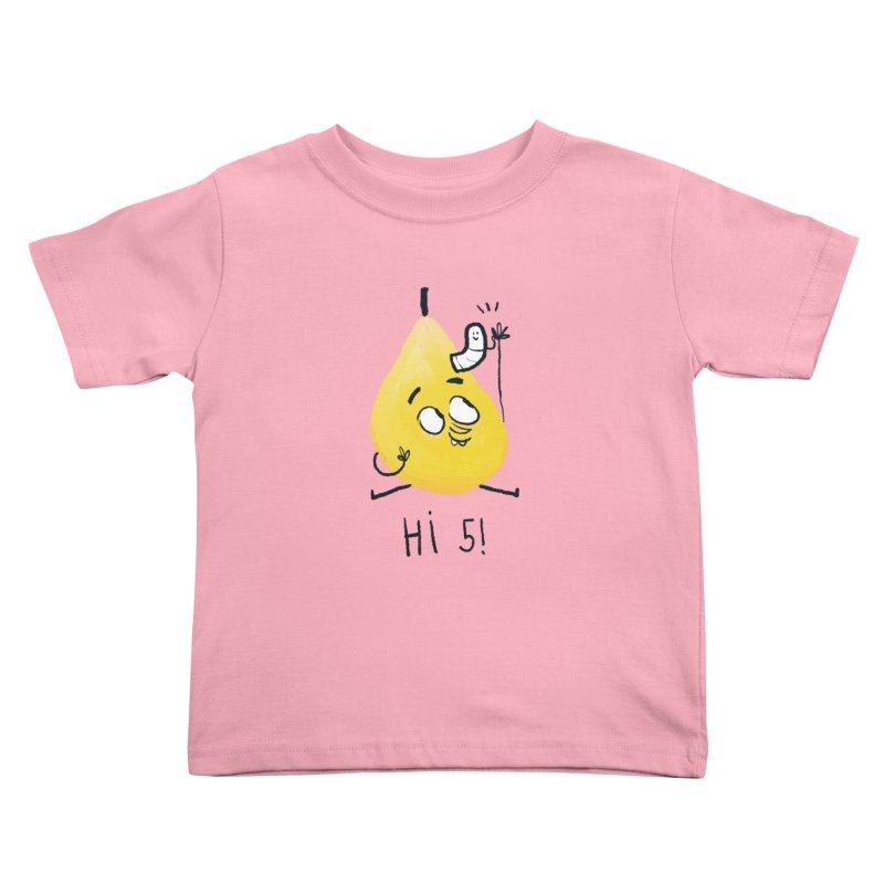 Hi Five! Kids Toddler T-Shirt by amirabouroumie's Artist Shop
