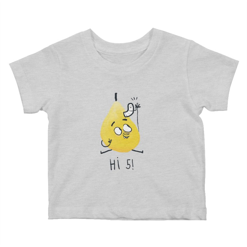 Hi Five! Kids Baby T-Shirt by amirabouroumie's Artist Shop