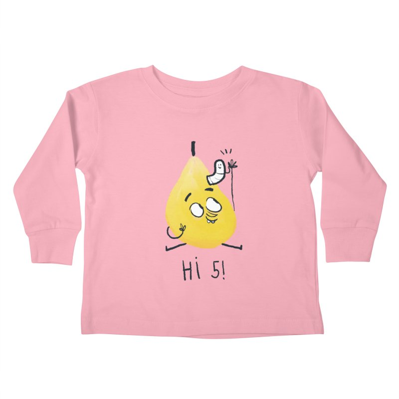 Hi Five! Kids Toddler Longsleeve T-Shirt by amirabouroumie's Artist Shop