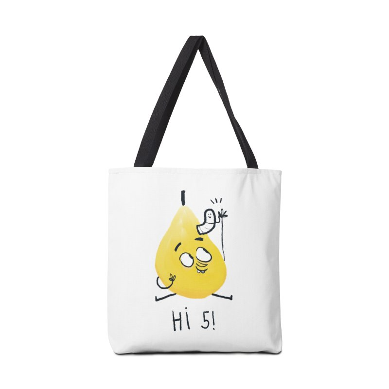 Hi Five! Accessories Bag by amirabouroumie's Artist Shop