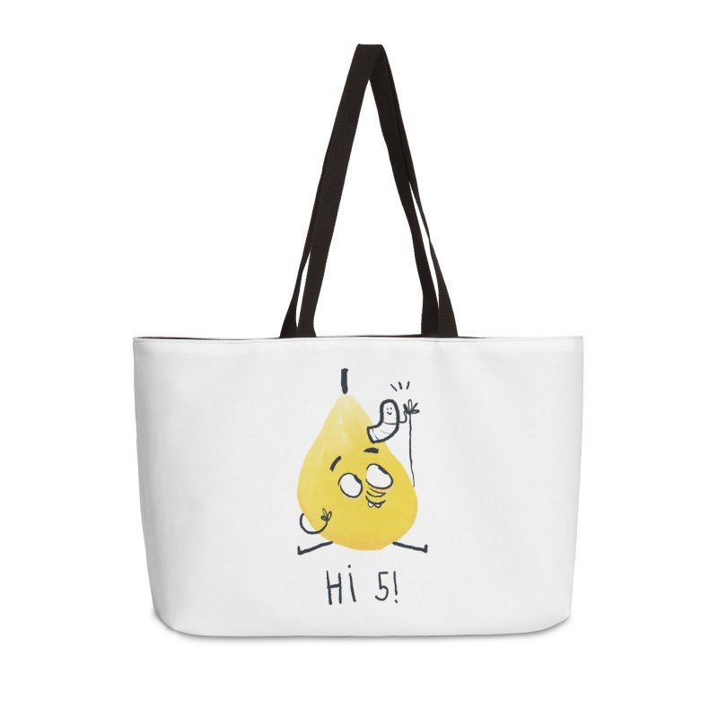 Hi Five! Accessories Bag by amirabouroumie's Artist Shop