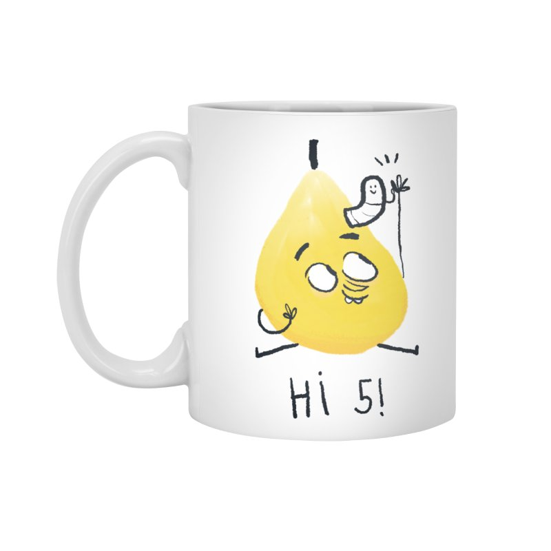 Hi Five! Accessories Mug by amirabouroumie's Artist Shop