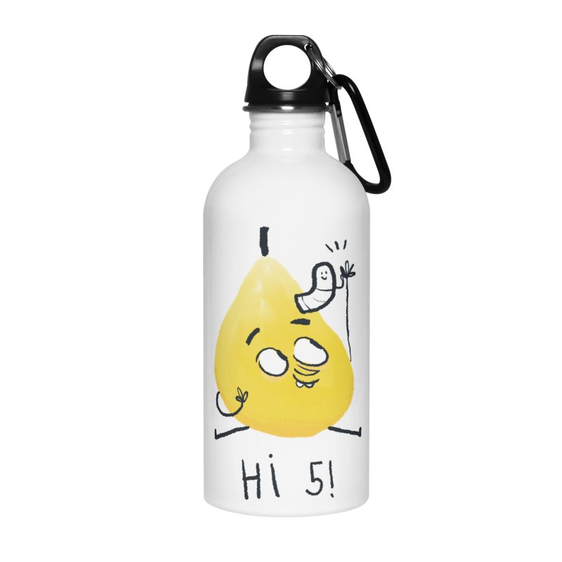 Hi Five! Accessories Water Bottle by amirabouroumie's Artist Shop