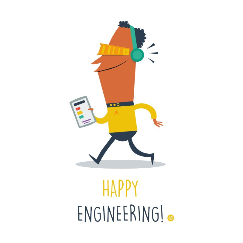 Happy Engineering by amirabouroumie's Artist Shop