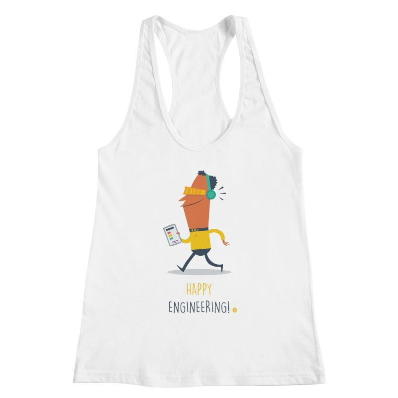 Happy Engineering Women's Tank by amirabouroumie's Artist Shop