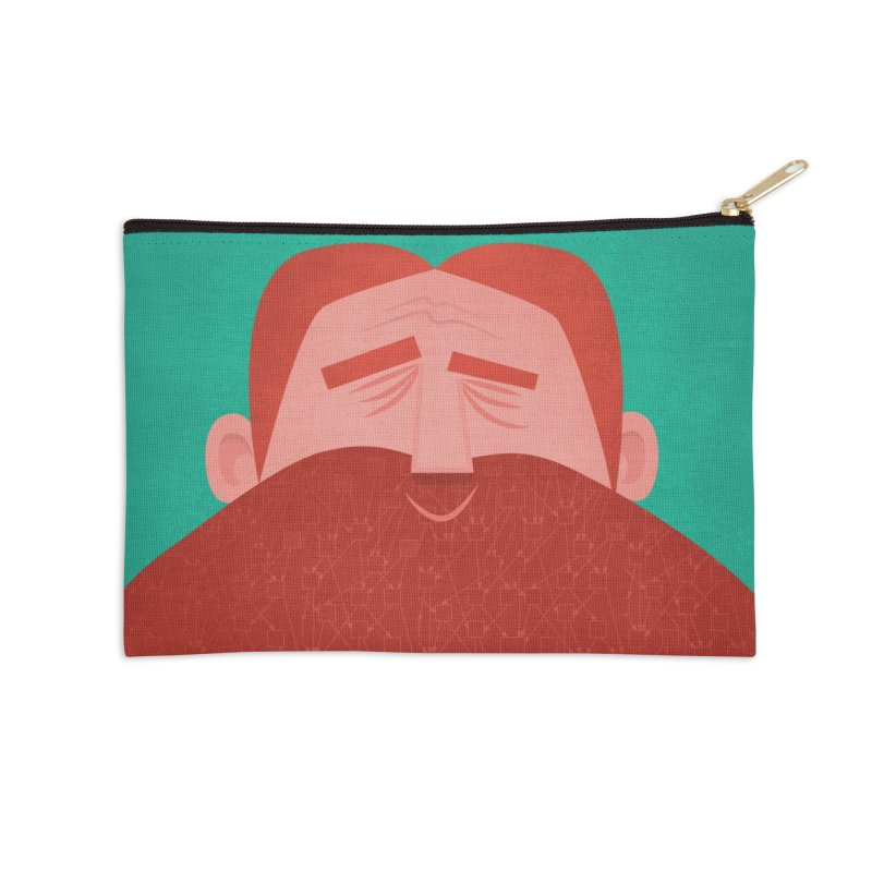 IOTA Tangle Illustration - David's Beard | Cryptocurrency | Blockchain | Retro | Vintage | Tech Accessories Zip Pouch by amirabouroumie's Artist Shop