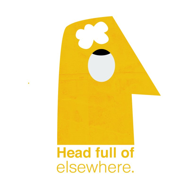 Head full of elsewhere   by amirabouroumie's Artist Shop