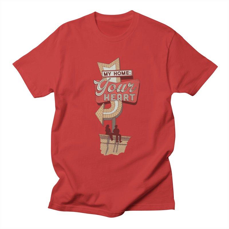 My Home, Your Heart Men's T-Shirt by Amor de Verano Studio's Shop
