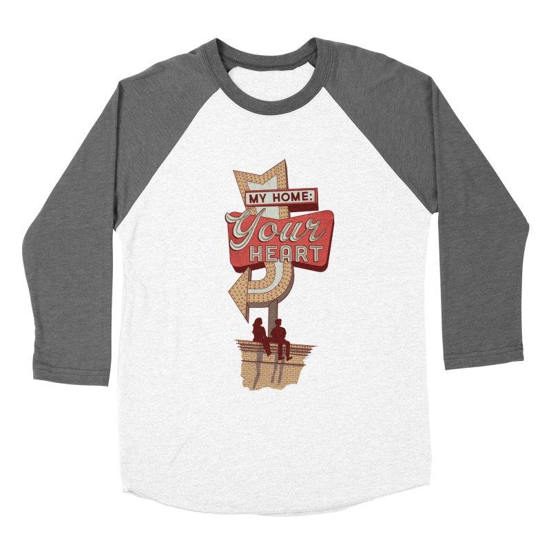 My Home, Your Heart Women's Longsleeve T-Shirt by Amor de Verano Studio's Shop