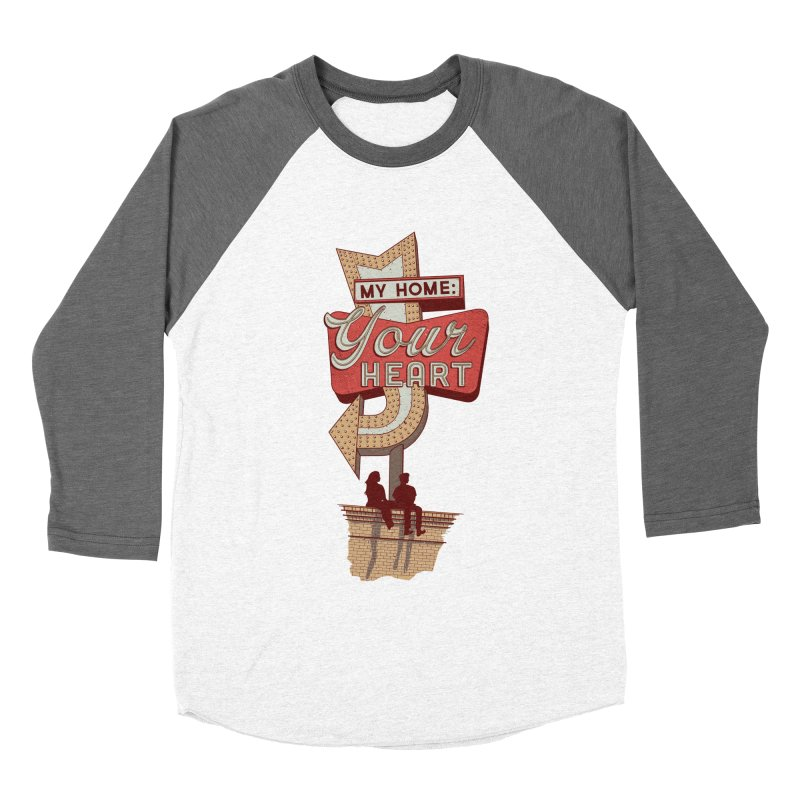 My Home, Your Heart Women's Baseball Triblend T-Shirt by Amor de Verano Studio's Shop