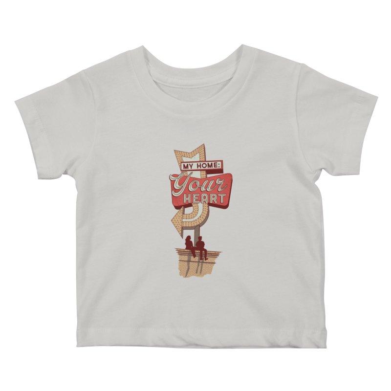 My Home, Your Heart Kids Baby T-Shirt by Amor de Verano Studio's Shop