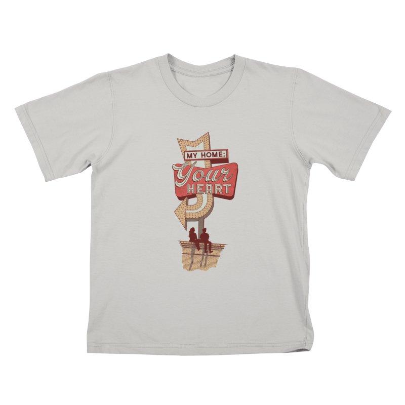 My Home, Your Heart Kids T-Shirt by Amor de Verano Studio's Shop
