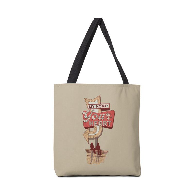 My Home, Your Heart Accessories Bag by Amor de Verano Studio's Shop