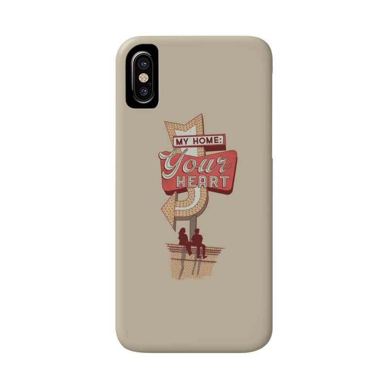 My Home, Your Heart Accessories Phone Case by Amor de Verano Studio's Shop