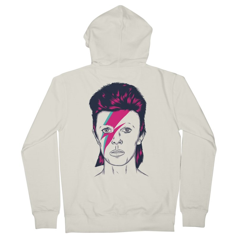 Bowie Women's French Terry Zip-Up Hoody by Amor de Verano Studio's Shop