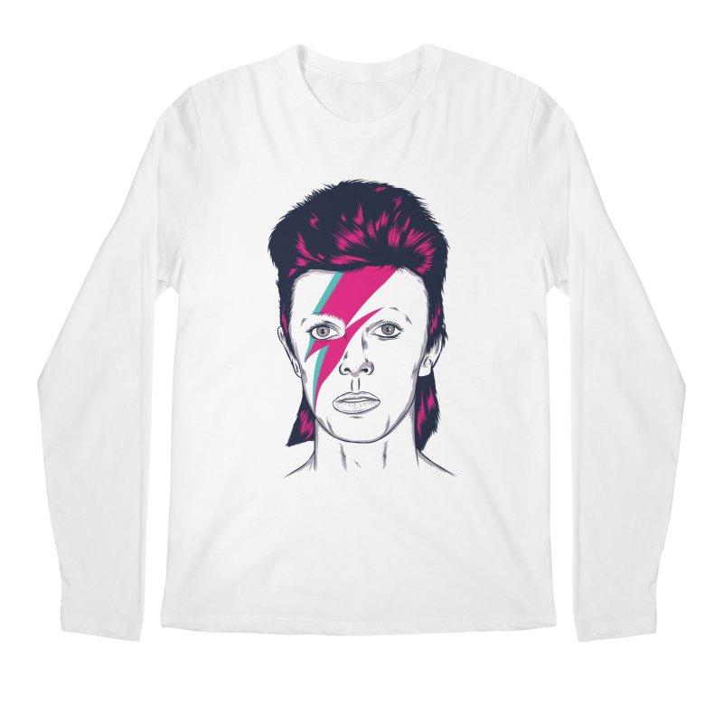Bowie Men's Longsleeve T-Shirt by Amor de Verano Studio's Shop