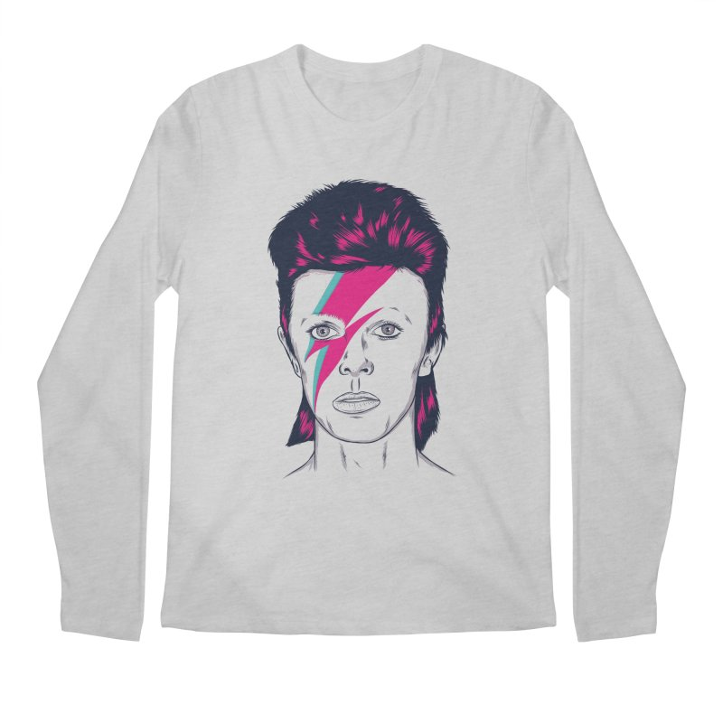 Bowie Men's Regular Longsleeve T-Shirt by Amor de Verano Studio's Shop