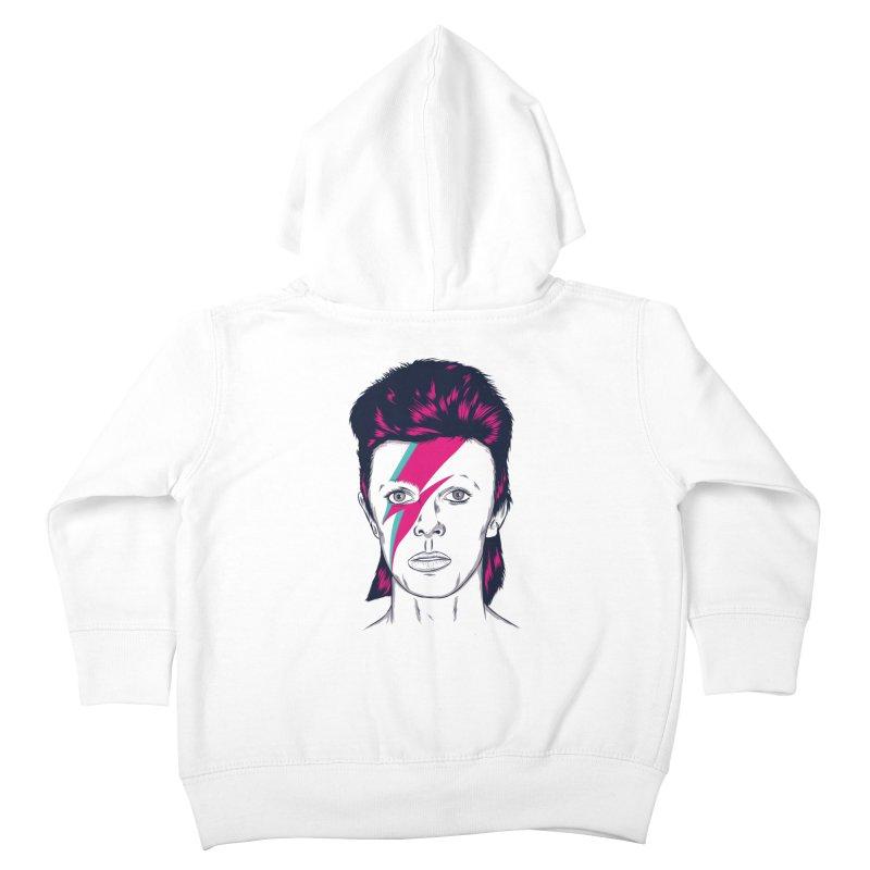 Bowie Kids Toddler Zip-Up Hoody by Amor de Verano Studio's Shop