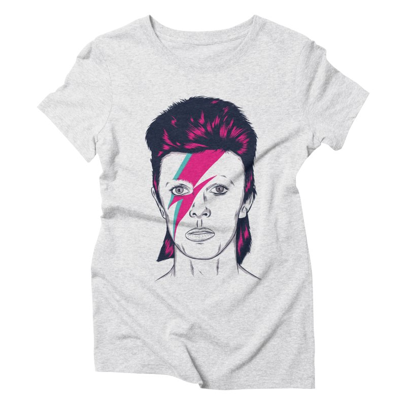 Bowie Women's Triblend T-Shirt by Amor de Verano Studio's Shop