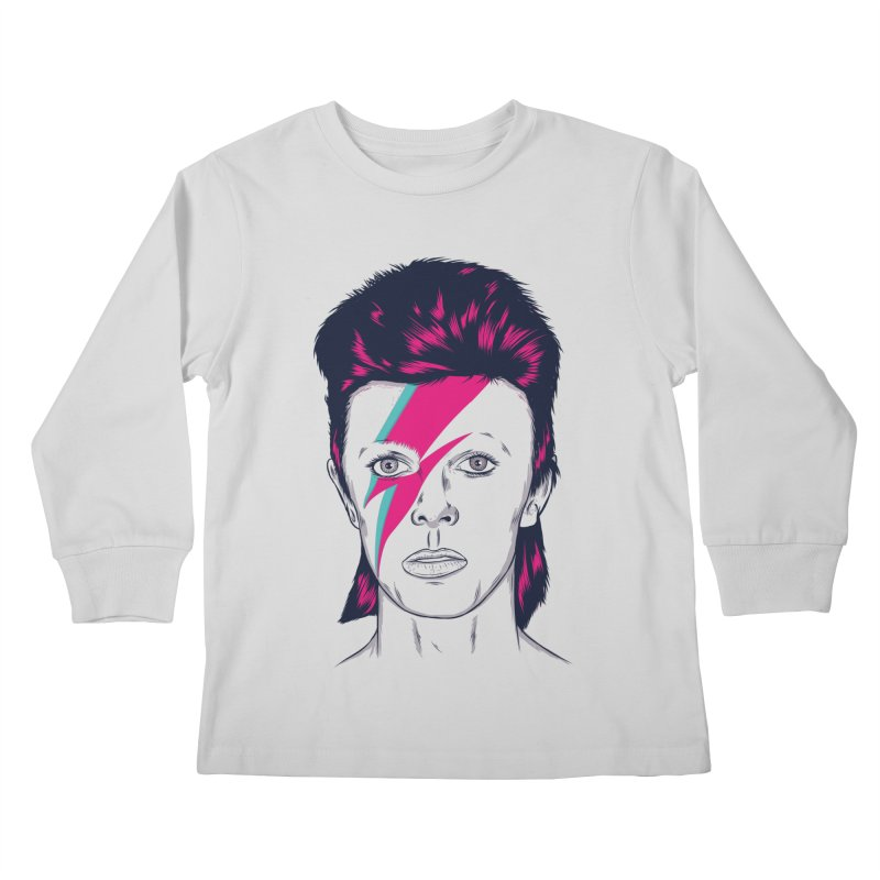 Bowie Kids Longsleeve T-Shirt by Amor de Verano Studio's Shop