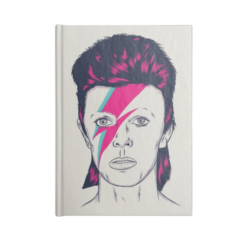 Bowie Accessories Blank Journal Notebook by Amor de Verano Studio's Shop