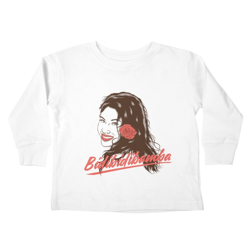 Bidibidibamba Kids Toddler Longsleeve T-Shirt by Amor de Verano Studio's Shop