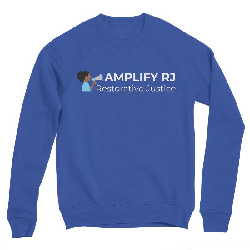 OG ARJ Logo (White) Women's Sweatshirt by amplifyrj's Artist Shop