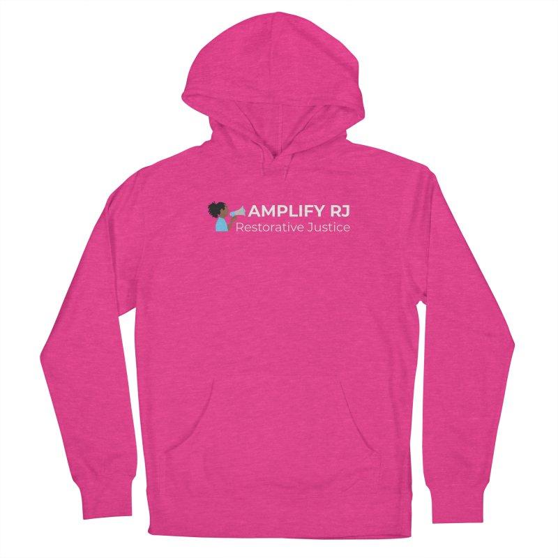 OG ARJ Logo (White) Men's Pullover Hoody by amplifyrj's Artist Shop