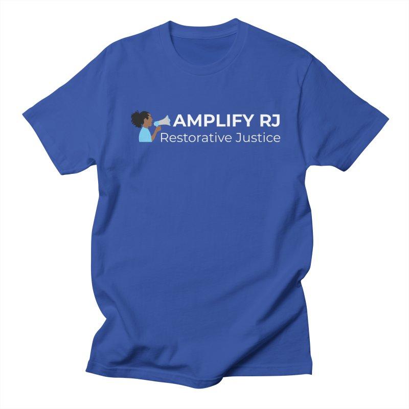 OG ARJ Logo (White) Men's T-Shirt by amplifyrj's Artist Shop