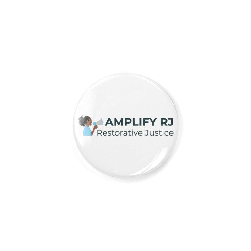 OG ARJ Logo (Dark) Accessories Button by amplifyrj's Artist Shop
