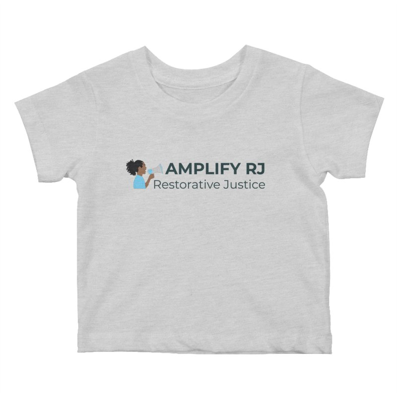 OG ARJ Logo (Dark) Kids Baby T-Shirt by amplifyrj's Artist Shop