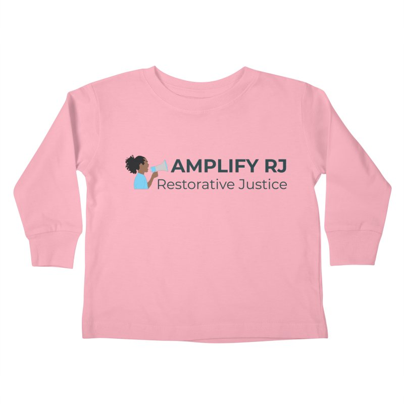 OG ARJ Logo (Dark) Kids Toddler Longsleeve T-Shirt by amplifyrj's Artist Shop