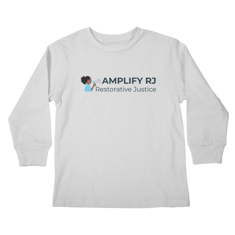 OG ARJ Logo (Dark) Kids Longsleeve T-Shirt by amplifyrj's Artist Shop